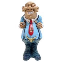פסל קריקטורה איש עסקים